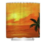 Hawaiian Sunset #27 Shower Curtain