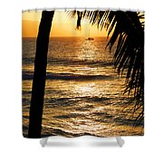 Hawaiin Sunset Shower Curtain