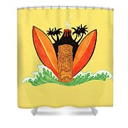 Hawiian Friday Shower Curtain