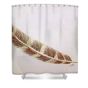 Hawk Feather Shower Curtain