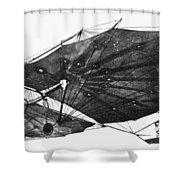 Hawk Glider, 1896 Shower Curtain