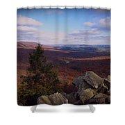 Hawk Mountain Sanctuary Shower Curtain by David Dehner