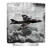 Hawker Hunter Shower Curtain