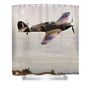 Hawker Hurricane -2 Shower Curtain