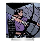 Hawkeye Shower Curtain