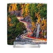 Hawk's Nest Shower Curtain