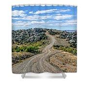 Hawksburn Road Shower Curtain