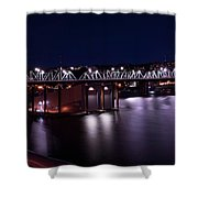 Hawthorne Bridge Shower Curtain