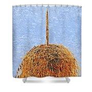 Hay Bale Shower Curtain