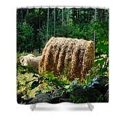 Hay Bay Rolls 2 Shower Curtain