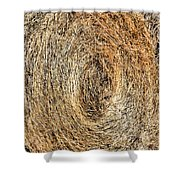 Hay Bay Rolls 5 Shower Curtain
