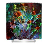 Hay Fever Dream Shower Curtain
