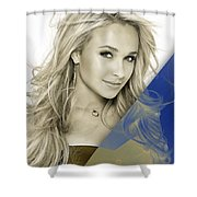 Hayden Panettiere Collection Shower Curtain
