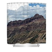 Hayden Peak Shower Curtain
