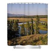 Hayden Valley Shower Curtain