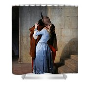 Hayez, The Kiss Shower Curtain