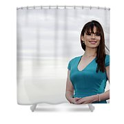 Hayley Atwell Shower Curtain