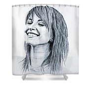Hayley Williams. Shower Curtain