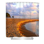 Haystack Heaven Shower Curtain