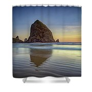 Haystack Rock Shower Curtain