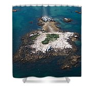 Hazard To Navigation Shower Curtain