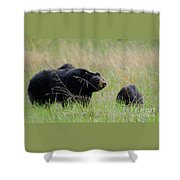 Hazel And The Wild Bunch Shower Curtain