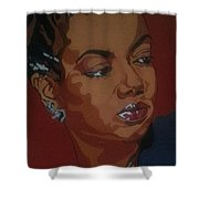 Hazel Scott Shower Curtain