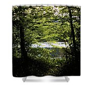 Hazelwood Co. Sligo Ireland. Shower Curtain