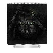 Hazy Shadows Shower Curtain