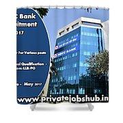 Hdfc Bank Recruitment Shower Curtain