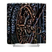 Hdr Liberty Bike Copper Ny Shower Curtain