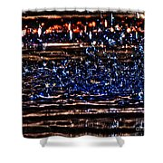 Hdr Water Dancer  Shower Curtain