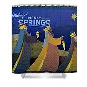 Three Wise Men Disney Springs Shower Curtain