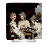 he Ladies Waldegrave Shower Curtain