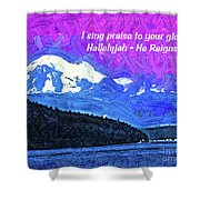 He Reigns Shower Curtain