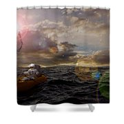 He Who Dared To Care Shower Curtain