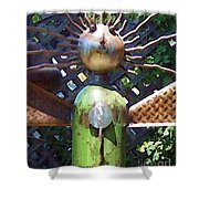 Head For Detail Shower Curtain