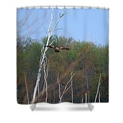 Head For The Tree Shower Curtain