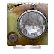 Head Light Shower Curtain