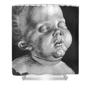 Head Of A Child Shower Curtain