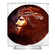 Head Of Christ Shower Curtain
