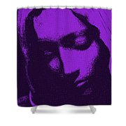 Head Of Mary Shower Curtain