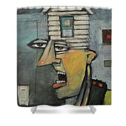 Head Of The House Shower Curtain