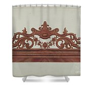 Headboard Shower Curtain