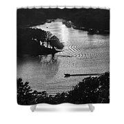 Headed  Home Shower Curtain