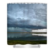 Headed Our Way Shower Curtain