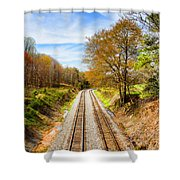 Headed West Shower Curtain
