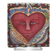 Headheartandspirit.jpg Shower Curtain