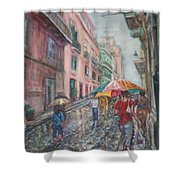 Heading Home In Havava Shower Curtain