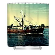Heading Out - Jersey Shore Shower Curtain